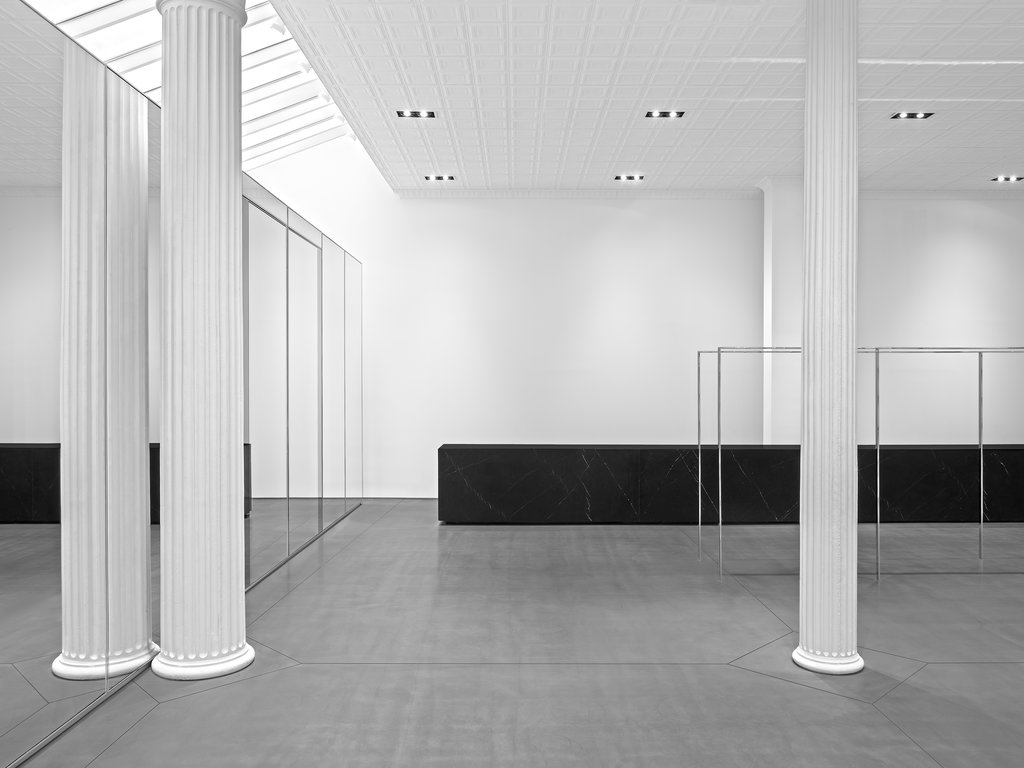Hedi Slimane Takes Saint Laurent Downtown With New SoHo Store