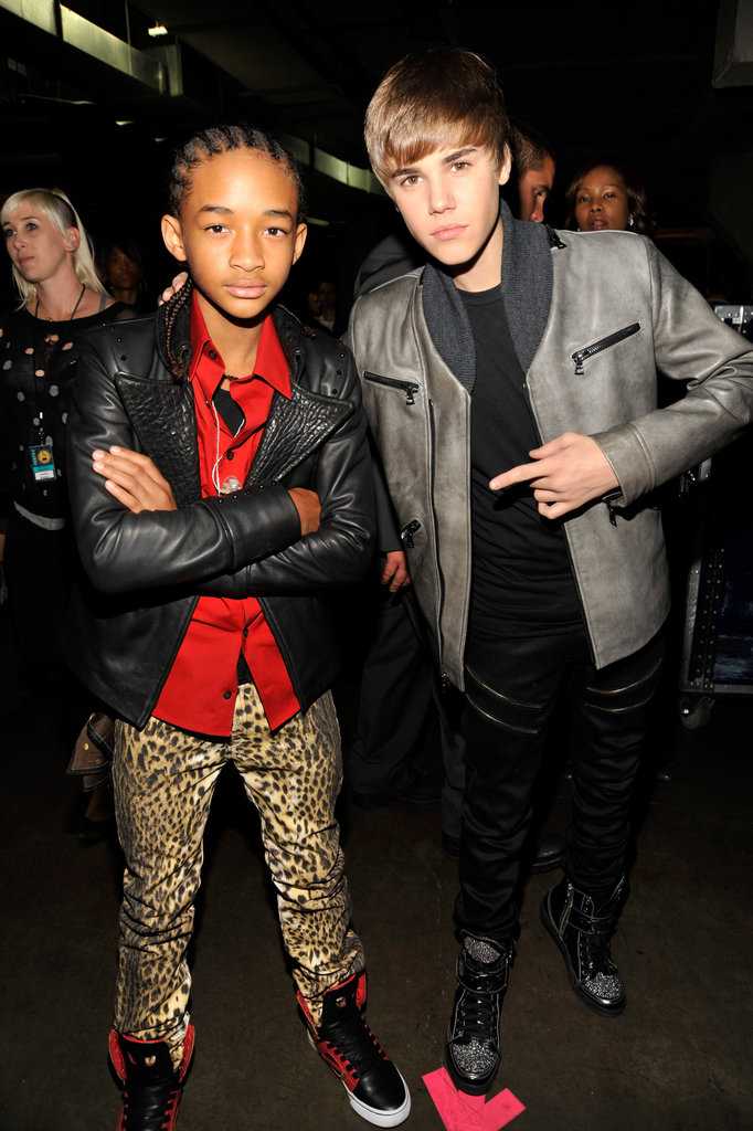 Justin Bieber and Jaden Smith are both talented young stars so it should come as no surprise that they both became fast friends. Justin has been supporting Jaden's music career, giving him a highly-coveted spot on his world tour this year.