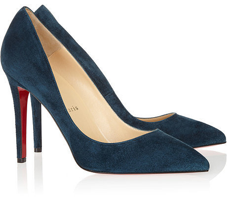 Christian Louboutin The Pigalle 100 suede pumps