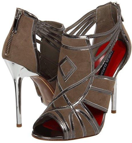 Charles Jourdan - Carrie (Pewter/Taupe) - Footwear