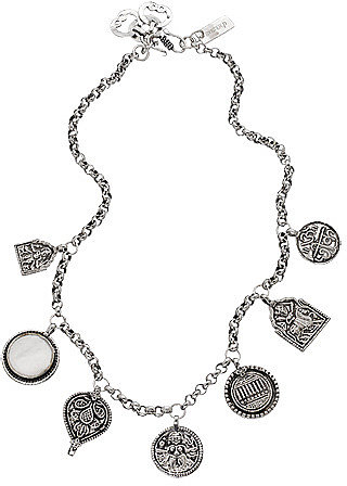 Syster P Multiple Coin Necklace