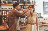 The Party Photo by Rita Steenssens of Studio 1079 via Green Wedding Shoes