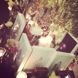 The beautiful setup at the launch party celebrating Samantha Wills' new Zodiac range.