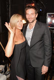Jennifer Aniston and Bradley Cooper hung out backstage at the Guys Choice Awards in LA.
