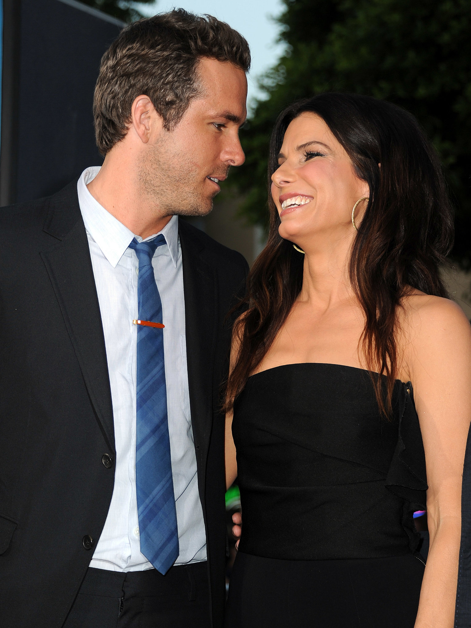 Ryan Reynolds and Sandra Bullock were introduced by a mutual friend years ago and formed a strong friendship on the set of 2009's The Proposal. They supported each other through divorces, his from Scarlett Johansson and hers from Je