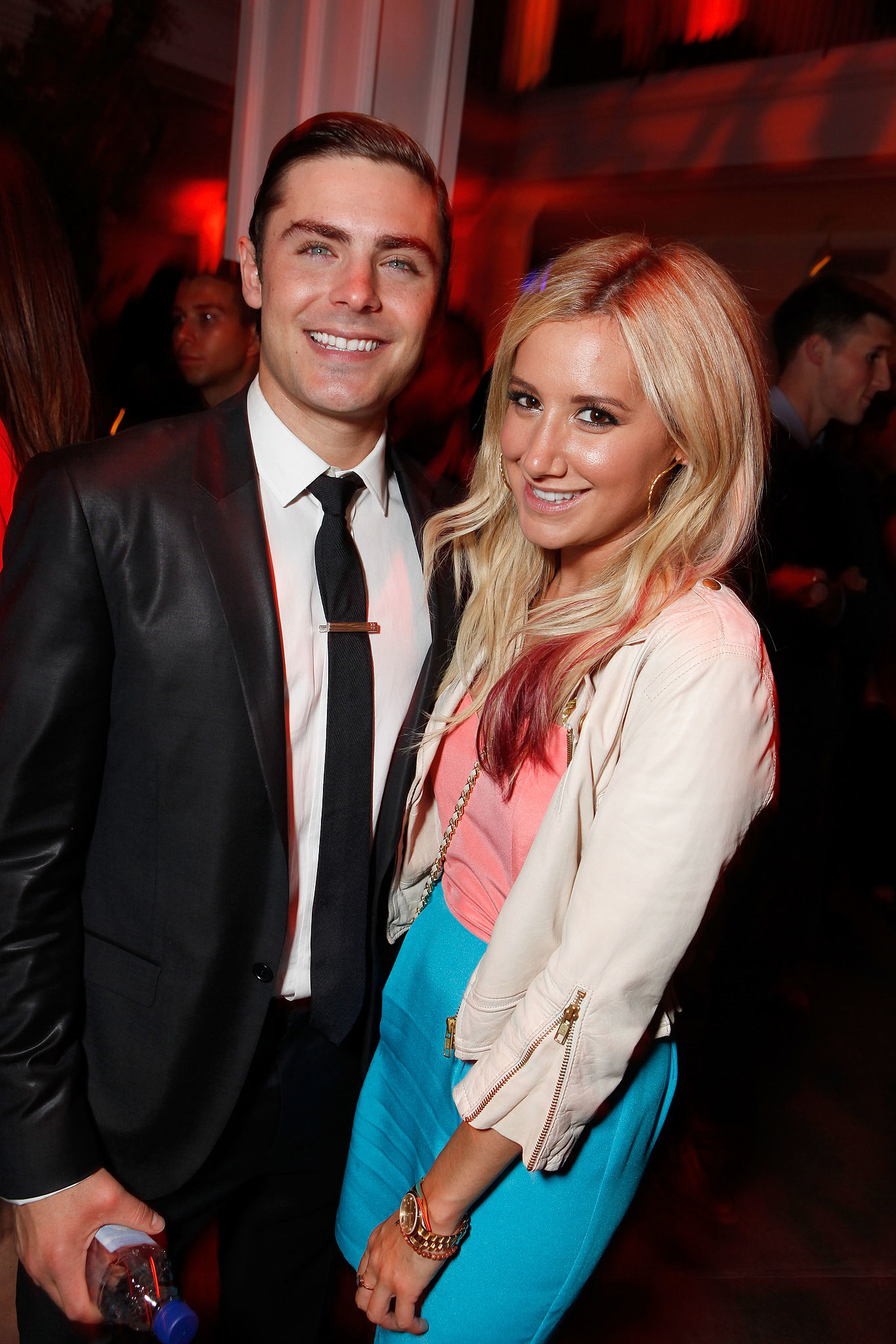 Zac Efron and Ashley Tisdale have been buds since their High School Musical days and still spend time together. Ashley even showed her support for Zac at his Lucky One premiere in April 2012.