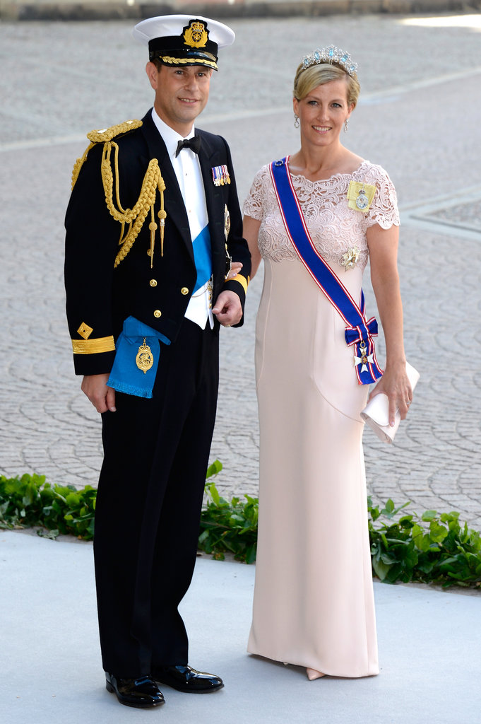 The Earl and Countess of Wessex were wedding guests.