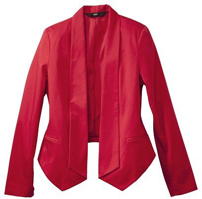 Mossimo® Women's Sateen Blazer Jacket - Assorted Colors