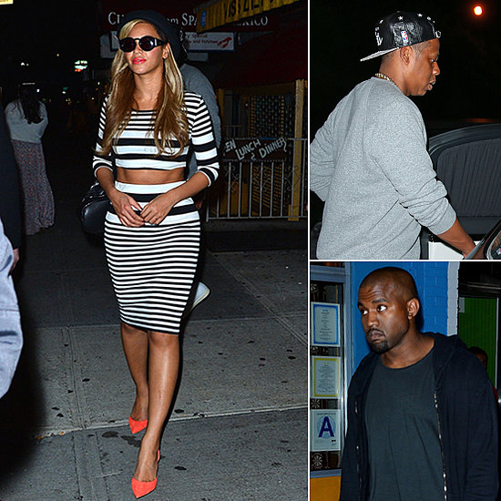 Picture Snaps: Beyonce and Her Abs at Kanye's 36th Birthday Event