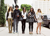 Taissa Farmiga, Israel Broussard, Emma Watson, Katie Chang, and Claire Julien in The Bling Ring. Source: Cinetic Media
