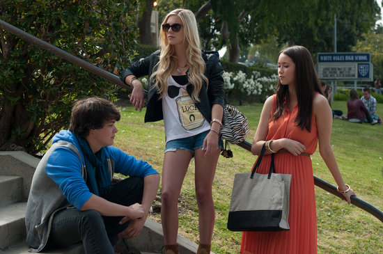 Israel Broussard, Claire Julien, and Katie Chang in The Bling Ring. Source: Cinetic Media