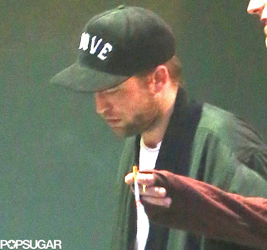 Robert Pattinson checked out a Björk concert in LA.