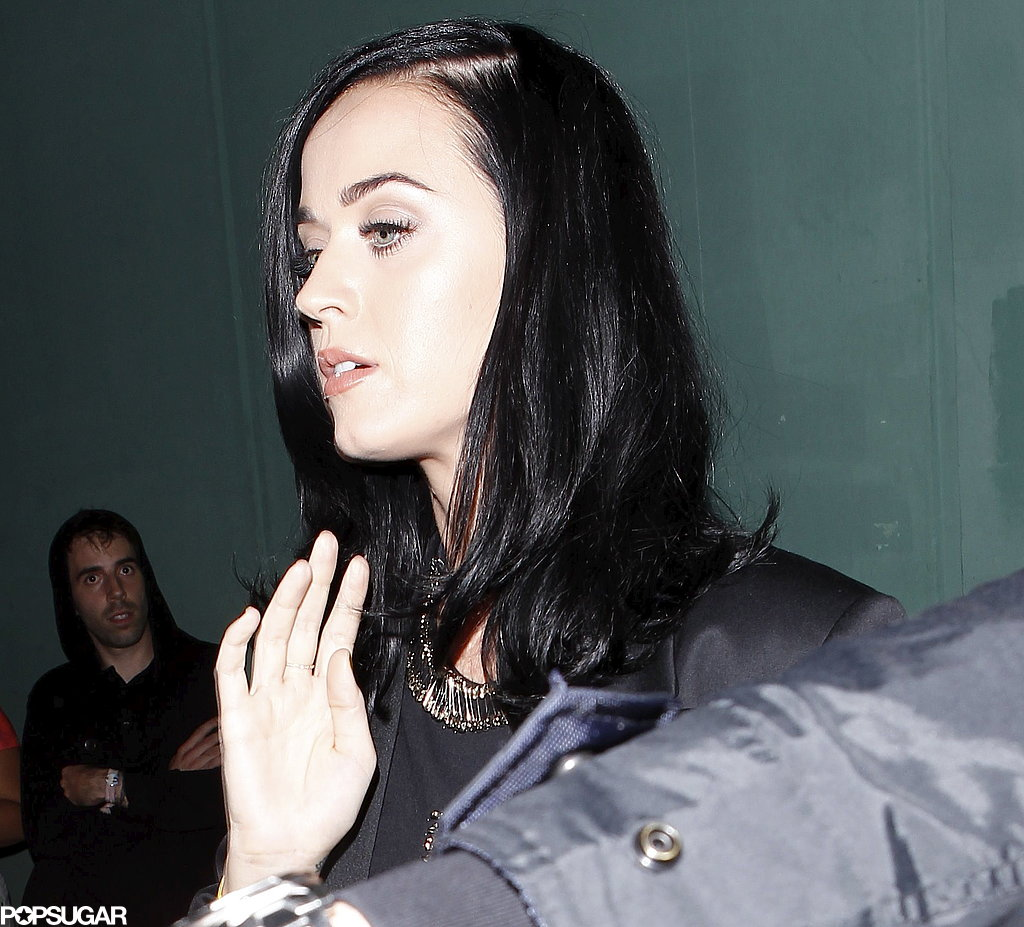 Katy Perry arrived at the Hollywood Palladium.