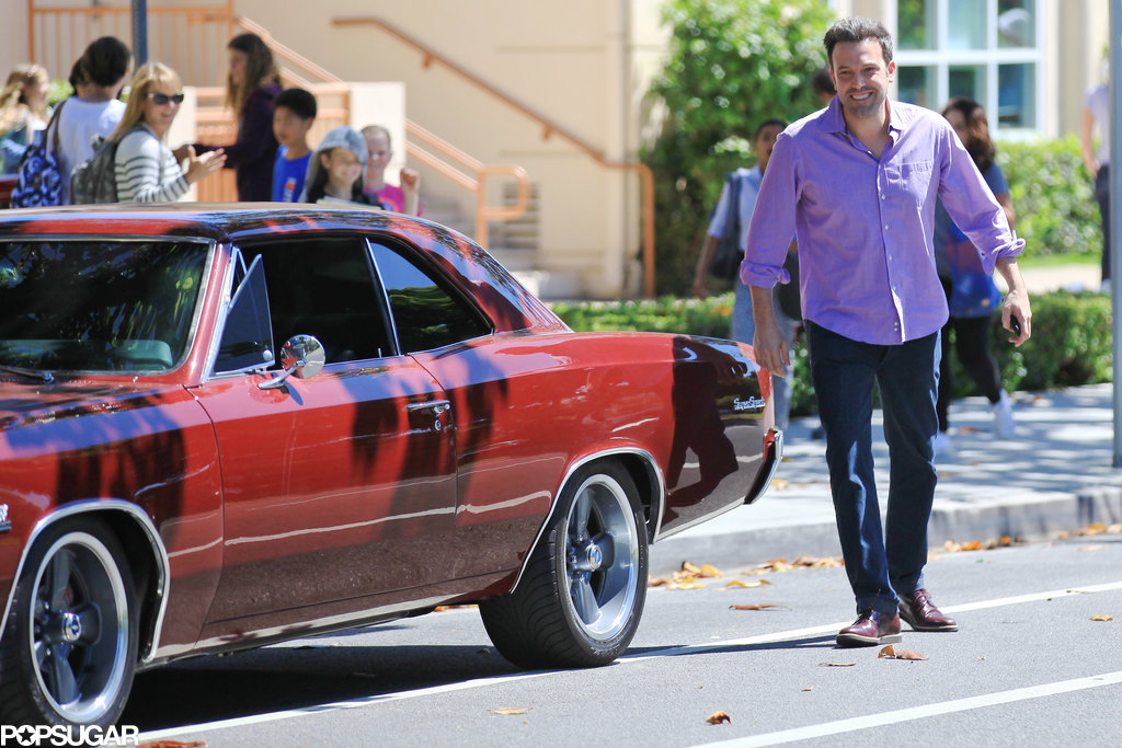 Ben Affleck's car was back in business after breaking down over the weekend.