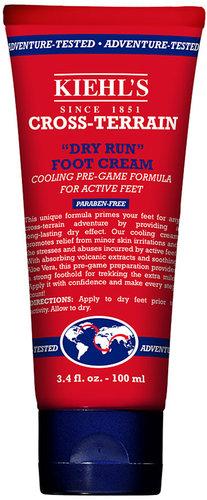 Kiehl's Since 1851 Cross-Terrain Dry Run Foot Cream