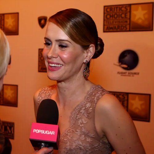 Sarah Paulson American Horror Story Coven Interview (Video)