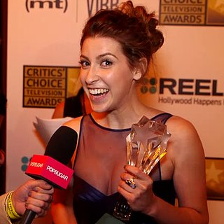 The Middle's Eden Sher Critics Choice Interview | Video