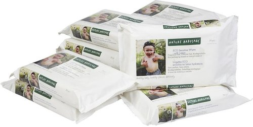 Nature Baby Care with Lotion Baby Wipes Refill 700ct.