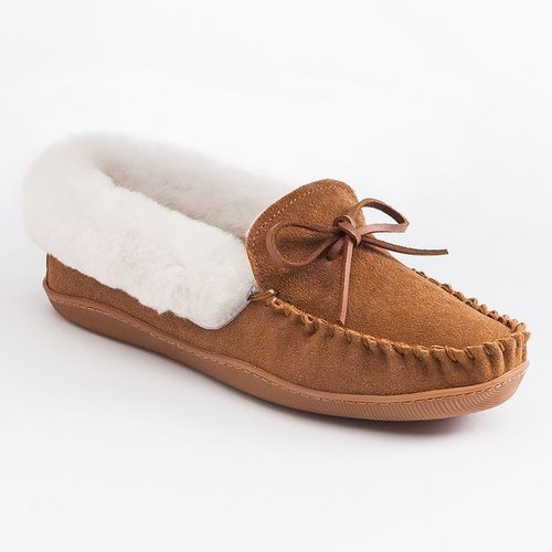 Sonoma life + style suede and shearling moccasins - women