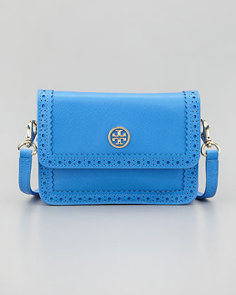 Tory Burch Robinson Mini Spectator Crossbody Bag, Bougainville Pink