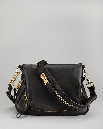 Tom Ford Jennifer Mini Crossbody Bag, Black