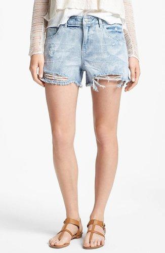 Free People Denim Cutoff Shorts (Summer Sky)