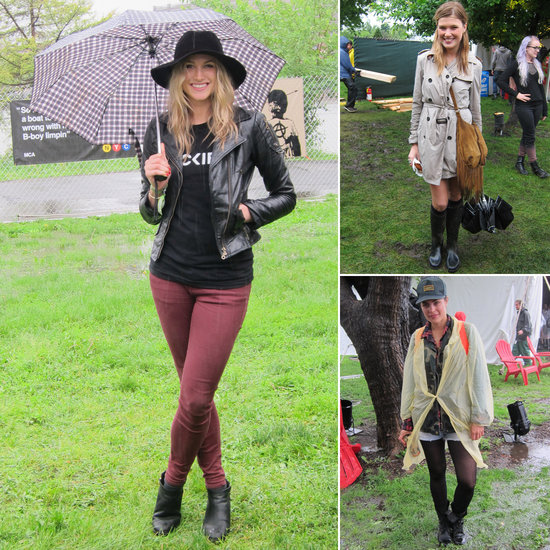 10 Street-Style Lessons About Rocking It in the Rain