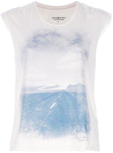 Ralph Lauren Denim & Supply printed t-shirt
