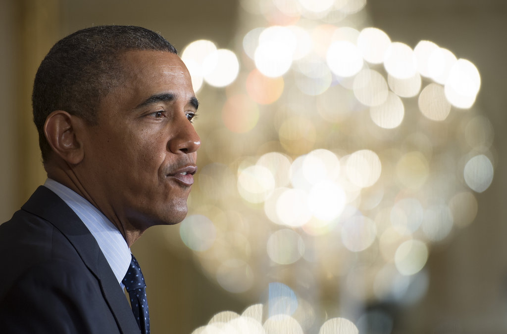 President Obama cited statistics that say women still make less than men.