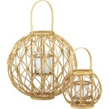 Keep the glow alive on those warm Summer nights with these bamboo globe lanterns ($20-$40, originally $25-$60).
