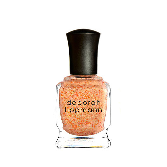 First came the dazzling seafoam-hued Mermaid's Dream, and now there's the Deborah Lippmann Million Dollar Mermaid ($19), a juicy, metallic tangerine that's high on sheen.