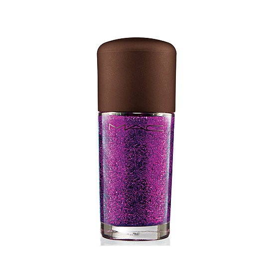 The name pretty much says it all! MAC Temperature Rising Nail Lacquer in Scorching Haute ($18) is a sultry shade of fuchsia that sparkles and shines from every angle.