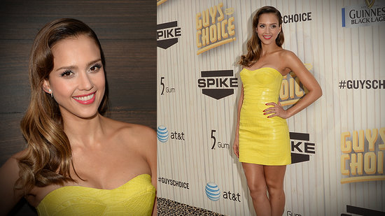 Jessica Alba Perfects Sexy at the Guys Choice Awards