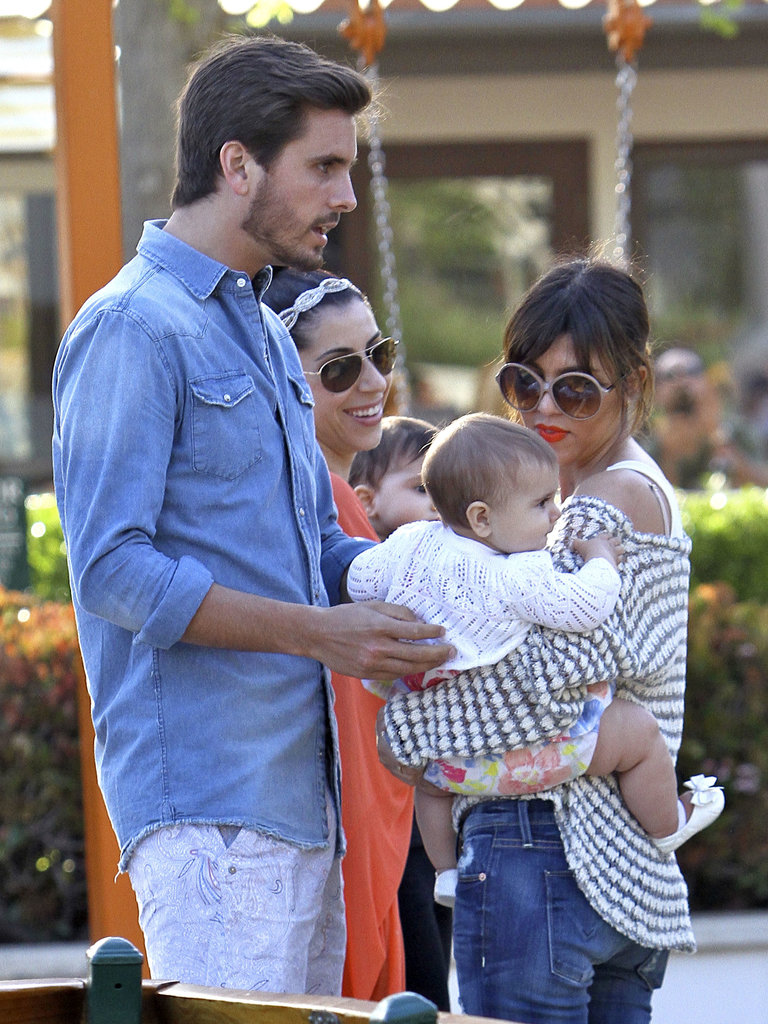 Scott Disick welcomed his daughter, Penelope, with Kourtney Kardashian in July 2012.