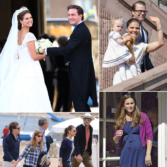 Royal Weekend Roundup: Weddings, Bikinis, and Babies!