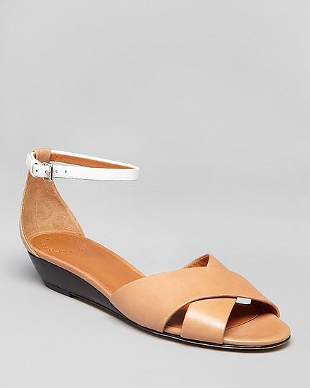 The slight wedge makes these Marc by Marc Jacobs sandals ($174, originally $248) as comfy as they are cute.