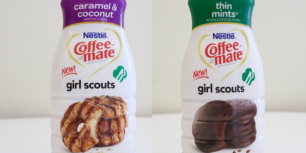 Girl Scout Cookie-Flavored Creamers: Splash or Pass?