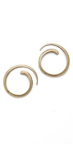 Avant garde paris Spirale Earrings