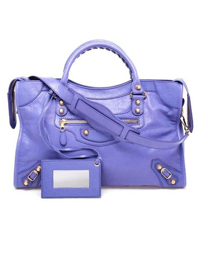 BALENCIAGA 'Giant City' Leather Bag
