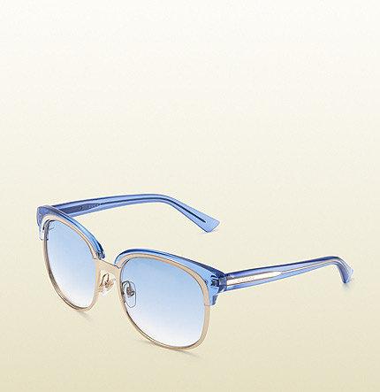 Oversize Double Frame Sunglasses
