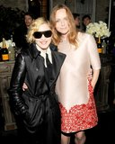 Madonna and Stella McCartney at Stella McCartney's Resort 2014 presentation. Source: Billy Farrell/BFAnyc.com