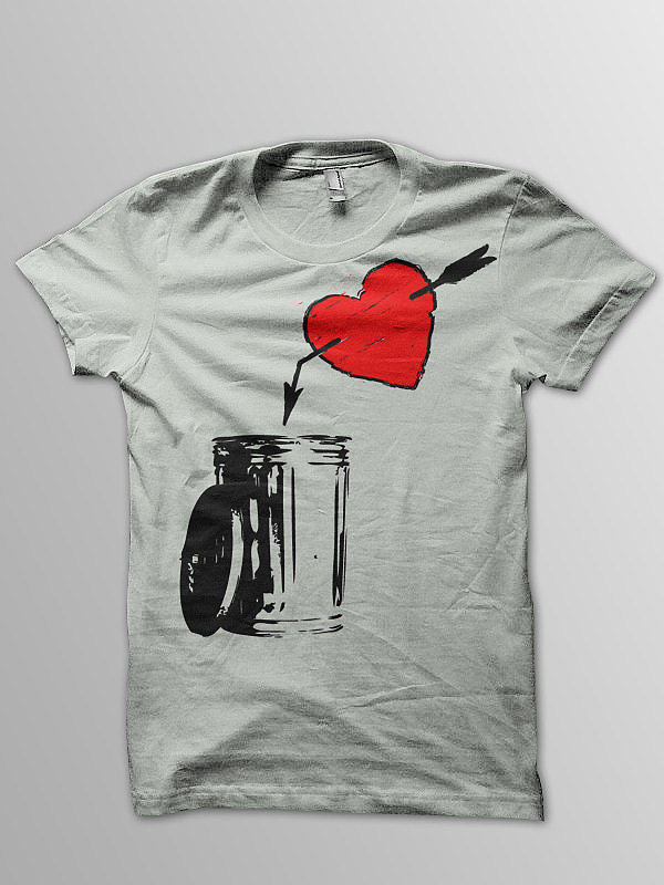 This is one love shirt ($18) that takes dumping to a new level.