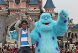 Rafael Nadal celebrated his French Open win at Disneyland in Paris in June 2013.
