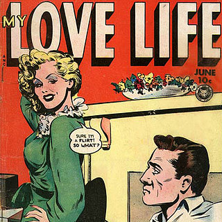 Vintage Romance Comic Covers