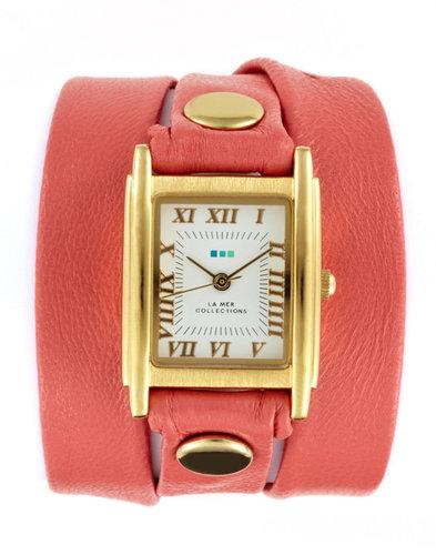 Women's Coral Multi Wrap Watch