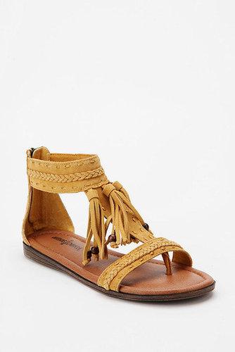 Minnetonka Belize T-Strap Tassel Sandal