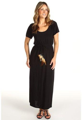 Christin Michaels - Plus Size Quincy Maxi Dress (Black) - Apparel