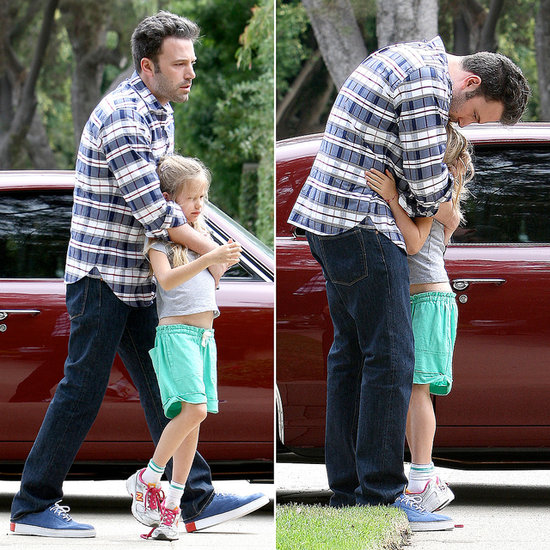 Ben Affleck Shows His Sweet Side With Violet