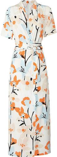 Diane von Furstenberg Glennis printed silk wrap dress