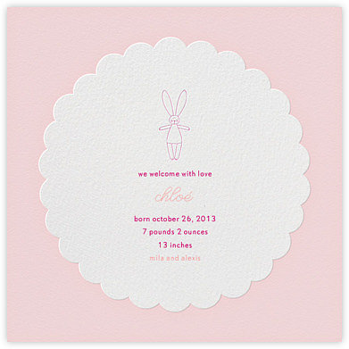 Petit Lapin by Petit Bateau (also available for paper)